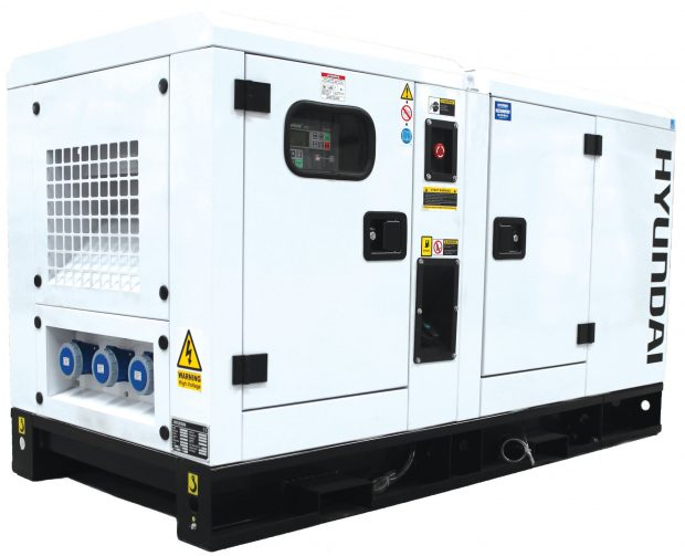 Oxtrad Tools Hyundai DHY22KSE 1500rpm 22kVA Three Phase Diesel Generator