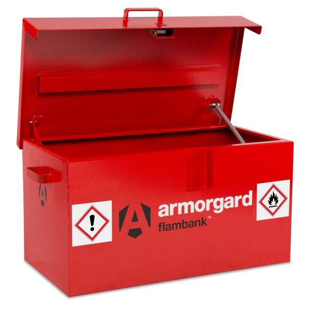 Oxtrad Tools Ltd Armorgard FB1 FlamBank Hazardous Chemicals and Flammables Van Box