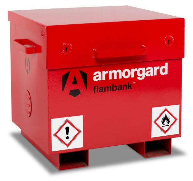 Oxtrad Tools Ltd Armorgard FlamBank FB21 Site Box