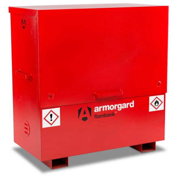 Oxtrad Tools Ltd Armorgard FBC4 FlamBank Hazardous Chemicals and Flammables Site Chest