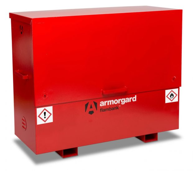 Oxtrad Tools Ltd Armorgard FBC5 FlamBank Hazardous Chemicals and Flammables Site Chest