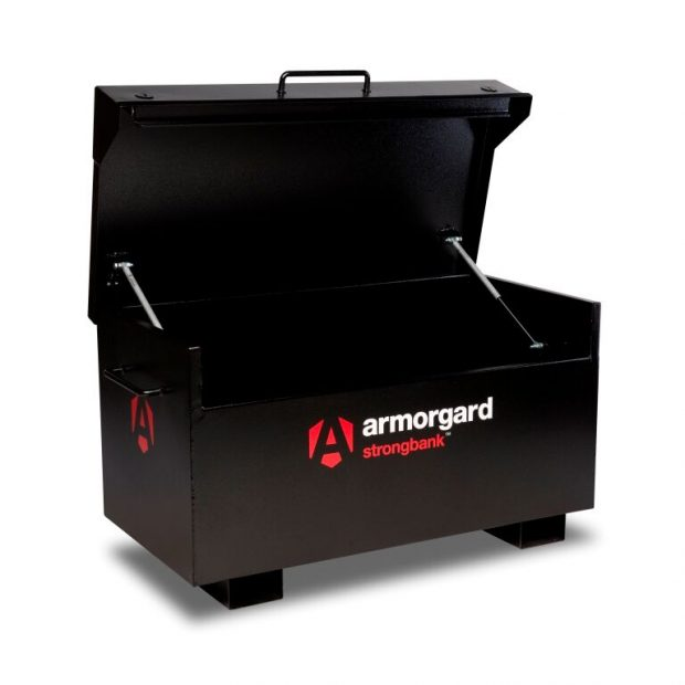 Oxtrad Tools Ltd Armorgard StrongBank SB2 Ultra Secure Site Box L1325 x W700 x H665mm