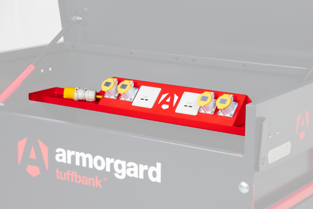 Oxtrad Tools Ltd Armorgard Tuffbank TBS4P PowerShelf