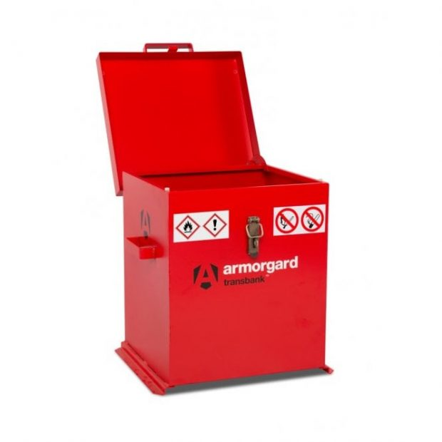 Oxtrad Tools Ltd Armorgard TRB2 TransBank Fuels and Chemicals Storage Box