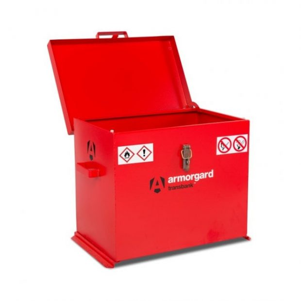 Oxtrad Tools Ltd Armorgard TransBank TRB3 Hazardous Storage Container