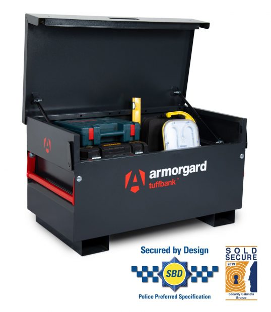 Oxtrad Tools Ltd Armorgard TuffBank TB2 Site Box