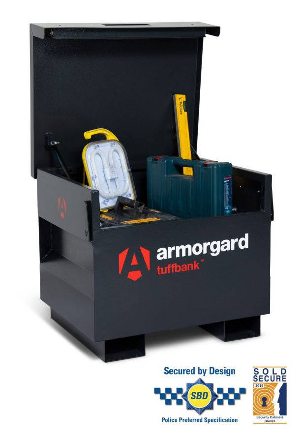 Oxtrad Tools Ltd Armorgard TuffBank TB21 Site Box