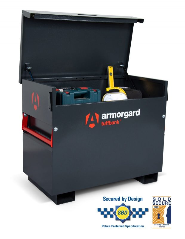 Oxtrad Tools Ltd Armorgard TuffBank TB3 Site Box