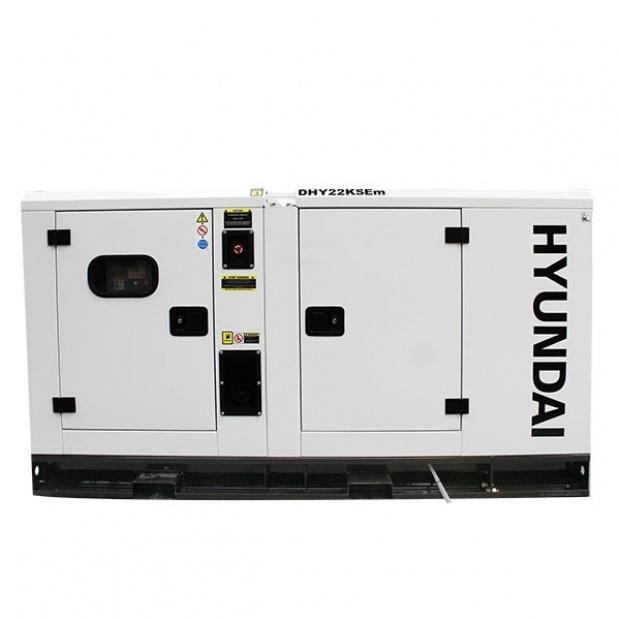 Oxtrad Tools Ltd Hyundai DHY22KSE 22kVA Three Phase Diesel Generator 2