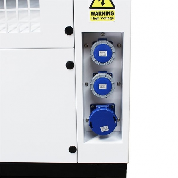 Oxtrad Tools Ltd Hyundai DHY22KSE 22kVA Three Phase Diesel Generator 3