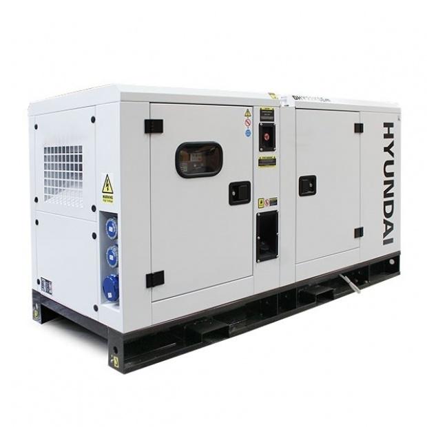Oxtrad Tools Ltd Hyundai DHY22KSE 22kVA Three Phase Diesel Generator 5