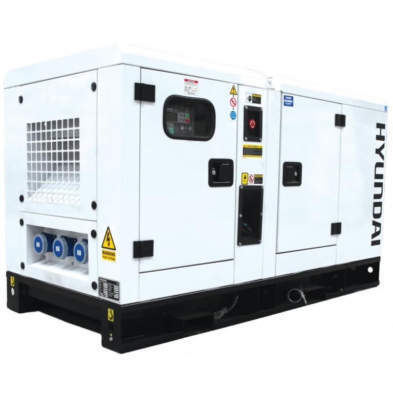 Oxtrad Tools Ltd Hyundai DHY22KSE 22kVA Three Phase Diesel Generator
