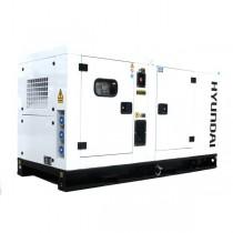 Hyundai DHY28KSEm Single Phase Standby Generator 34kva