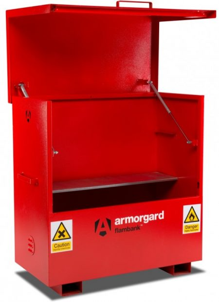 Oxtrad Tools Ltd Armorgard Flambank COSHH Site Chest FBC4