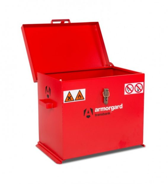Oxtrad Tools Ltd Armorgard Transbank Hazardous Storage Container TRB3