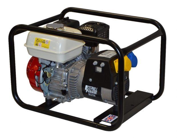 Oxtrad Tools Ltd Stephill 2700HMS Honda Petrol GX160 Generator 2.7kva/2.2kw