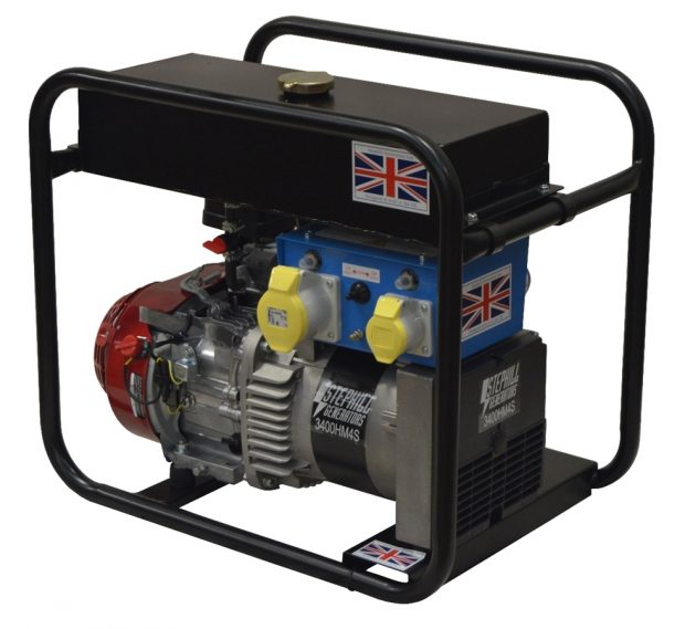 Oxtrad Tools Ltd Stephill 3400HM4SLR Honda Petrol Long Run Generator 3.4kva/2.7kw