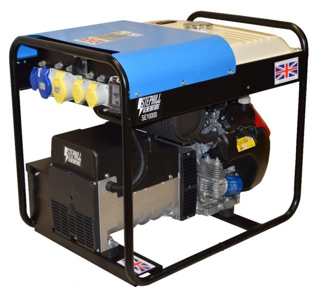 Oxtrad Tools Ltd Stephill Petrol Portable Generator 10kva 8.0kw. Honda GX630. SE10000
