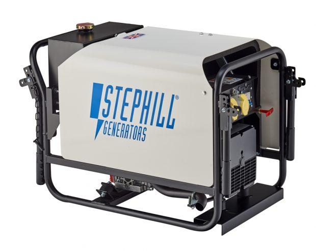 Oxtrad Tools Ltd Stephill SE3000DTK Generator 2.6kva 2.1kw cw Trolley