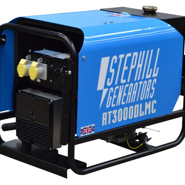 Oxtrad Tools Ltd Stephill SE3000DTK Generator 2.6kva/2.1kw c/w Trolley Kit