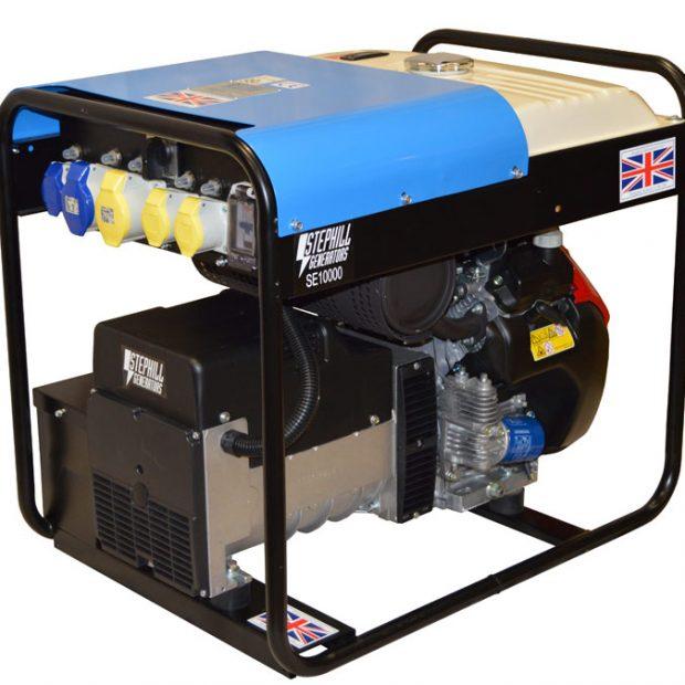 Oxtrad Tools Ltd Stephill Petrol Portable Generator 10kva/8.0kw. Honda GX630. SE10000