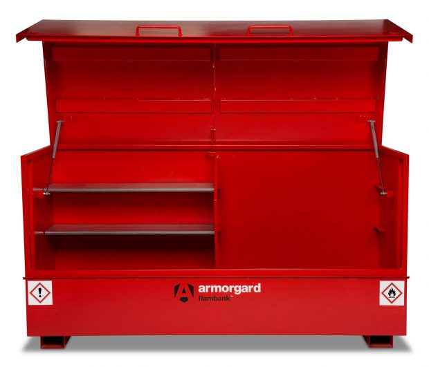 Oxtrad Tools Ltd Armorgard Flambank FBC8 Site Chest