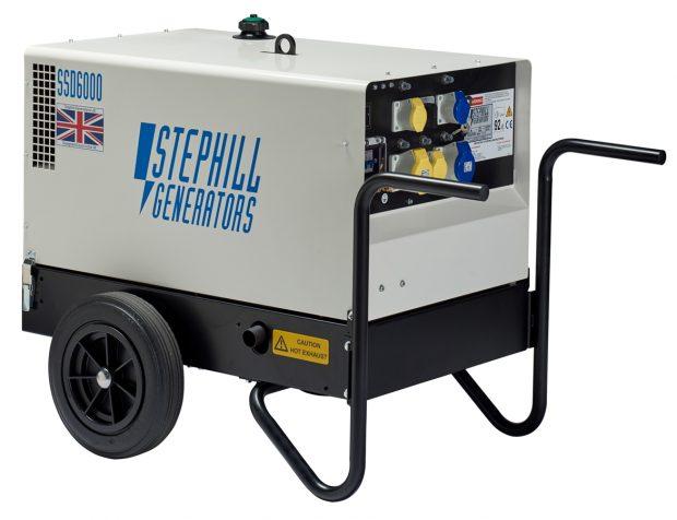 Oxtrad Tools Ltd Stephill SSD6000 Super Silent Diesel Generator 4.8kw