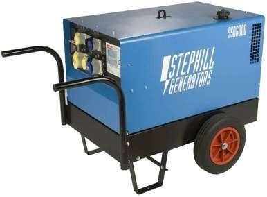 Oxtrad Tools Ltd Stephill SSD6000 Silent Diesel Generator 4.8kw