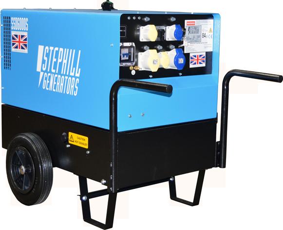 Oxtrad Tools Ltd Stephill SSD6000S Generator Super Silent Diesel 4.8kw