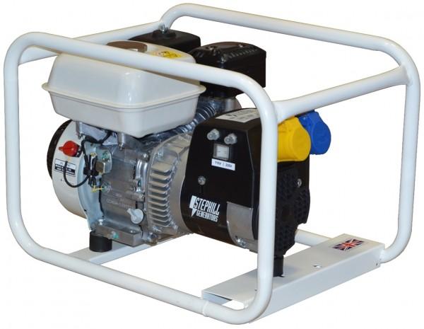 Oxtrad Tools Ltd Stephill GE2500 Honda Petrol Generator 2.5kva 2.1kw