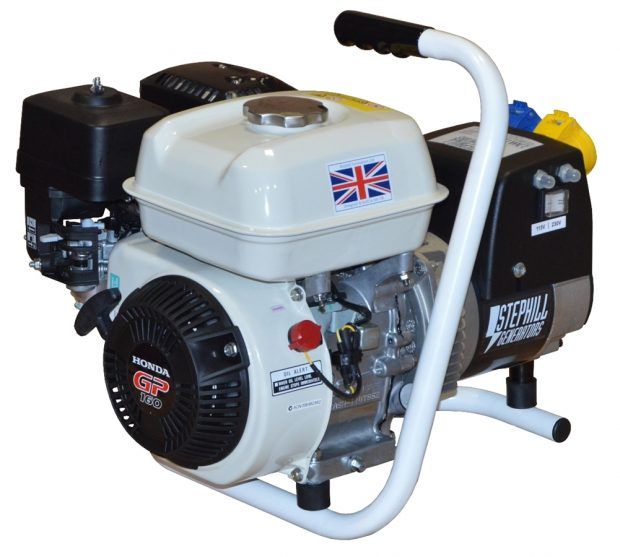 Oxtrad Tools Ltd Stephill GE2501 Lightweight Honda Petrol Generator 2.5kva 2.1kw