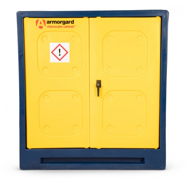 Oxtrad Tools Armorgard Chemcube Durable Plastic Chemical Cabinet CCC3 1