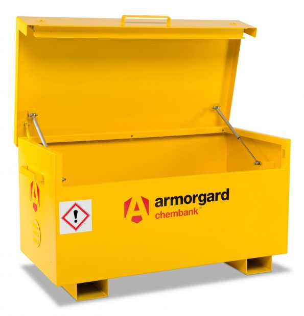 Oxtrad Tools Ltd Armorgard Chembank CB2 Chemical Storage Site Chest