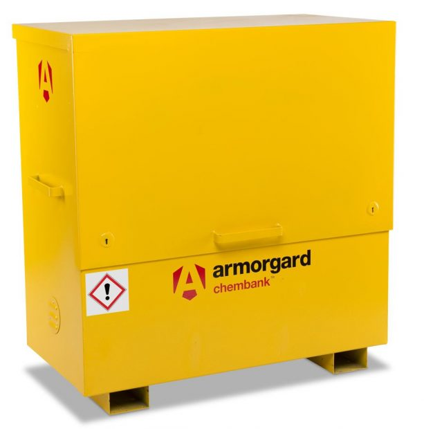 Oxtrad Tools Ltd Armorgard Chembank CBC4 Chemical Storage Chest