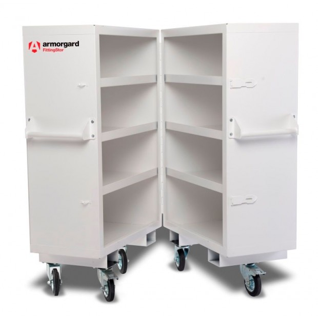 Oxtrad Tools Ltd Armorgard Fittingstor FC5 Mobile Fittings Bi-Fold Cabinet