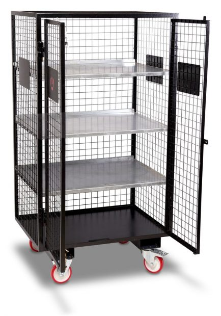 Oxtrad Tools Ltd Armorgard Fittingstor FC6 Mobile Storage Cage img 3