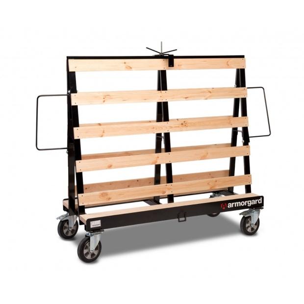 Oxtrad Tools Ltd Armorgard Loadall Plasterboard Trolley LA1500 1500Kg 1