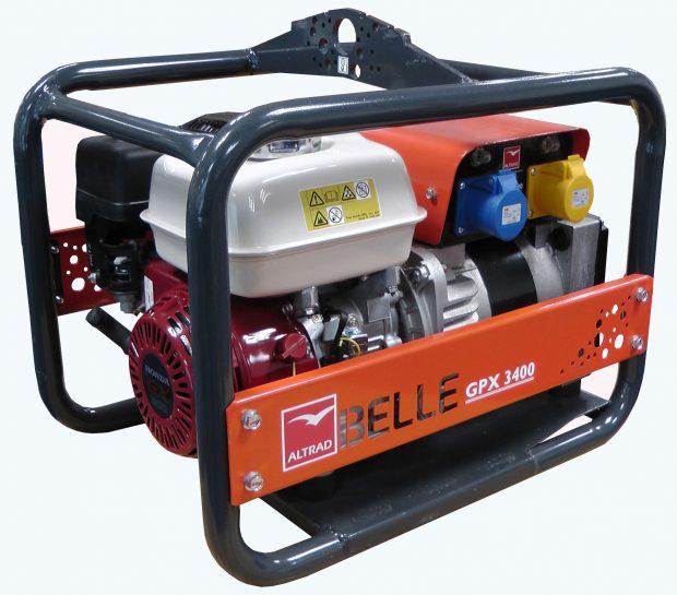 Oxtrad Tools Ltd Belle Honda Petrol Generator 3.4kva GPX3400