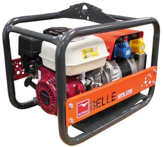 Oxtrad Tools Ltd Belle GPX2700 Honda Petrol Generator 2.7kva