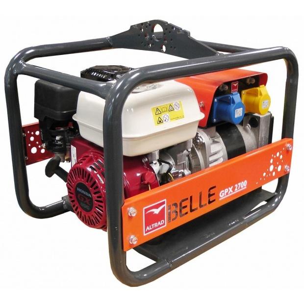 Oxtrad Tools Ltd Altrad Belle GPX2700 Honda Petrol Generator 2.7kva