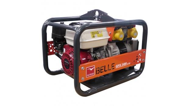 Altrad Belle GPX3400 Honda Petrol Generator 3.4kva