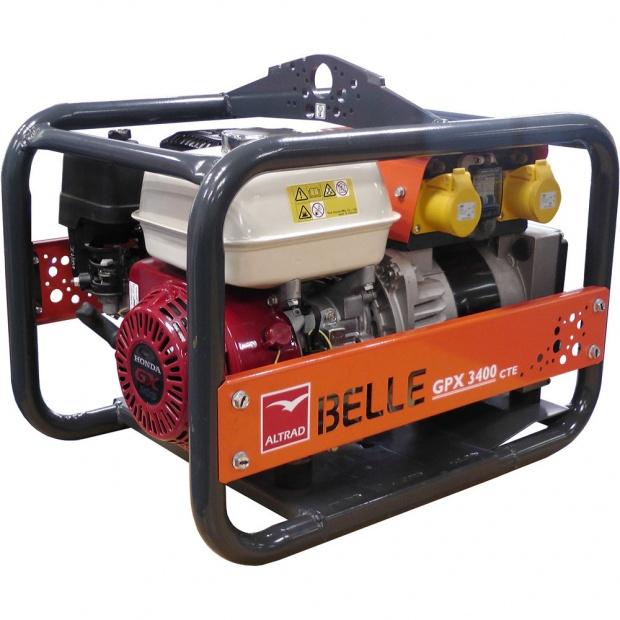Oxtrad Tools Ltd Altrad Belle GPX3400 Honda Petrol Generator 3.4kva