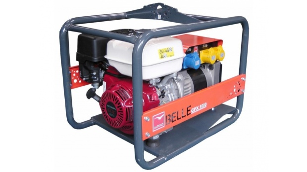 Altrad Belle GPX5000 Honda Petrol Generator 5.0kva
