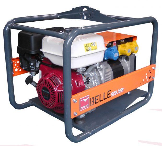Oxtrad Tools Ltd Altrad Belle GPX5000 Honda Petrol Generator 5.0kva