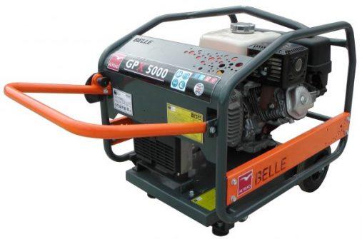 Oxtrad Tools Ltd Belle Honda Wheeled Petrol Generator 5.0kva GPX5000W