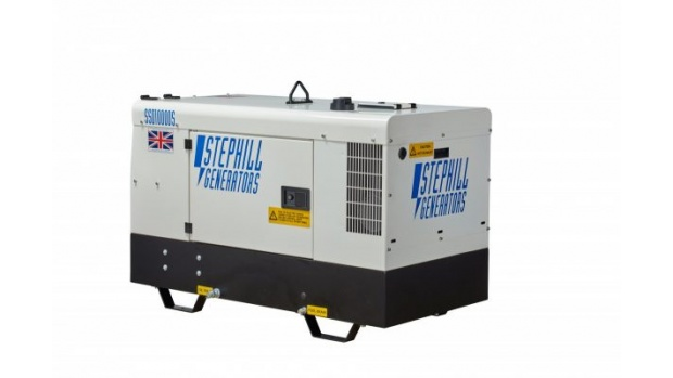 Oxtrad Tools Ltd Stephill SSD10000S Super Silent Single Phase 10kva Generator