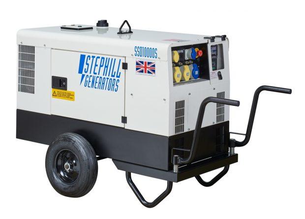 Oxtrad Tools Ltd Stephill SSD10000S Super Silent Single Phase10kva Generator