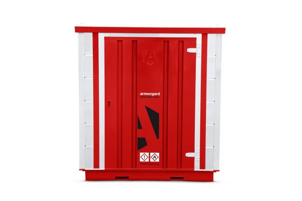 Oxtrad Tools Ltd Armorgard FR100C COSHH Modular Walk In Storage Unit Img1
