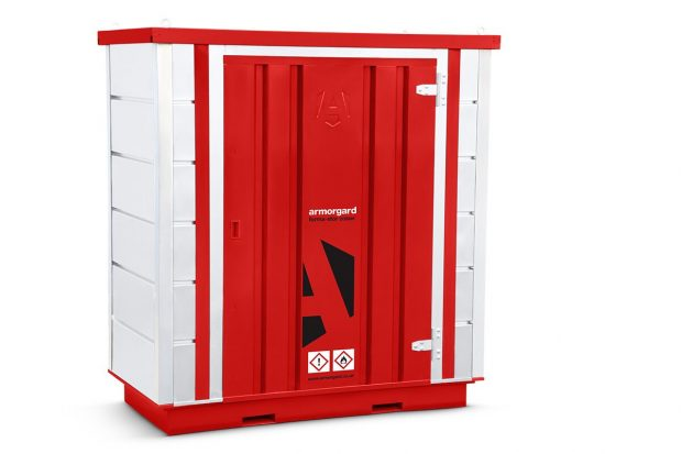 Oxtrad Tools Ltd Armorgard FR100C COSHH Modular Walk In Storage Unit img2