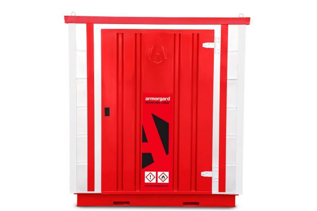 Oxtrad Tools Ltd Armorgard Forma-Stor FR200C COSHH Collapsible Storage Unit